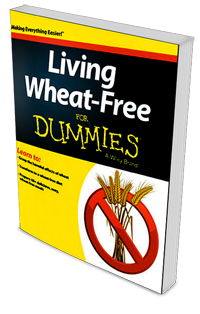 Living Wheat Free for Dummies Book Cover